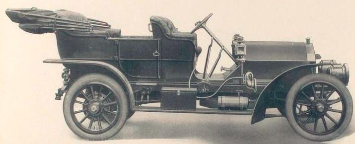Pennsylvania Auto Motor Company Of Bryn Mawr 1906 1911
